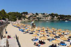 Playa de Porto Christo auf Mallorca in Spanien