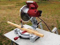 wikiHow to Use a Power Miter Saw -- via wikiHow.com