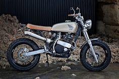 Honda XR600 Scrambler de 66 MOTORCYCLES