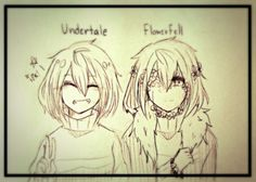 *The difference between me and UT Frisk is that they are strong and won't give up on this world. Me on the other hand... well, lets just say if I die I can't come back... -Frisk