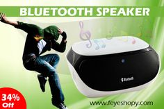 FEYE is glad to announce its wide range of Bluetooth Speakers with colorful designs and functions. Every product is featured with additional uniqueness in order to serve you better and to meet your expectations. With the more advancement in the product, we added extra unbeatable qualities such as some are featured with the inbuilt rechargeable battery, splash proof Bluetooth speakers and receiver, touching controllable key, built in microphone, power bank and many more.