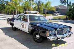 ◆1976 Chrysler Newport Police Car◆