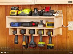 Great Tool Station ....... More Amazing #Woodworking Projects, Tips  Techniques at ►►► http://www.woodworkerz.com