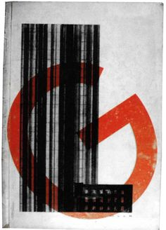 LUDWIG MIES VAN DER ROHE  GLASS SKYSCRAPER AT FRIEDRICHSTRASSE (BERLIN, 1922) ON THE COVER OF 'G' MAGAZINE NO.3, 1924  …cool buildings deserve cool graphic design