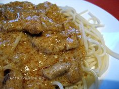 Poultry, Spaghetti, Food And Drink, Favorite Recipes, Pasta, Cooking, Ethnic Recipes, Food And Drinks, Kitchen