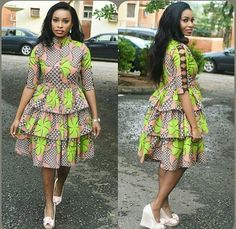 The best collection of unique and classic ankara gown styles of these ankara gowns are classically made African Fashion Ankara, African Fashion Designers, Latest African Fashion Dresses, African Print Fashion, Africa Fashion, African Style, Short African Dresses, African Print Dresses, Short Dresses