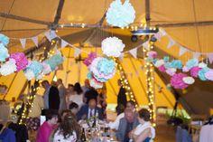 Tipi Farm Wedding by D&H Photography // www.onefabay.com