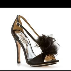 Badgley Mischka shoes for the bridesmaids :-)