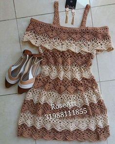 Discover thousands of images about Lindoo Bikini Crochet, Crochet Beach Dress, Crochet Summer Tops, Crochet Blouse, Knit Crochet, Crochet Festival Dresses, Crochet Skirts, Crochet Clothes, Crochet Designs
