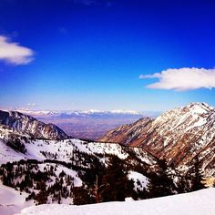 #snowbird #snowboard #slush #springsesh #hiddenpeak #summit #utah #beauty #mother #sun