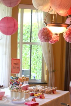 """""""ready to pop"""" baby shower:  cake pops, soda pop, salad with """"pop""""pyseed dressing, and other cute ideas"""