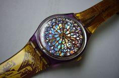 Wristwatch Wrist Watch Vintage SWATCH watch vintage by Watchchas
