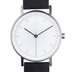 The S001 is one of the first watches from Australian brand Stock, which aims to combine a modern minimal aesthetic with subtle details and quirks based on vintage timepieces. #design #watches