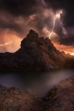 """Lightning"" ... New South Wales, Australia By Rod Trenchard"