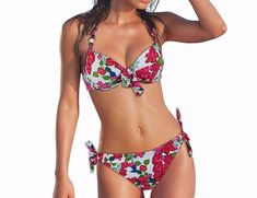 789dd9acec Women s Printed Push Up Beach Style Bikini – Zorket Push Up Bikini