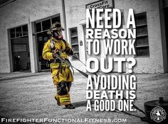 """253 Likes, 6 Comments - Firefighter Functional Fitness (@firefighterfunctionalfitness) on Instagram: """"- PUT IN THE WORK. - There are so many hazards that we face on the job. Fitness & nutrition are two…"""""""