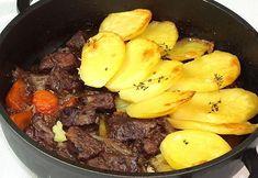 Estofado de Ternera al horno con patatas