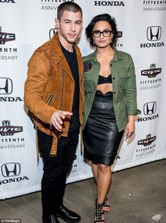 Demi Lovato and Nick Jonas will headline Future Now tour in New York | Daily Mail Online