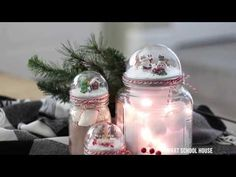 Mason Jar Lid Snow Globe - Page 2 of 2 - Smart School House