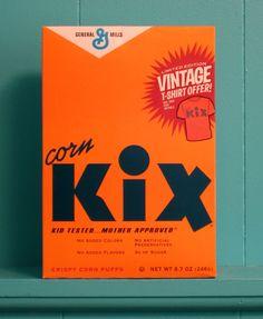 Vintage Packaging: KixCereal - The Dieline -