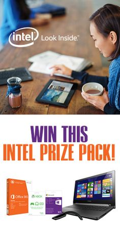 Win an Intel Prize Pack just in time for back to school