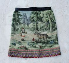 Fairy tale Skirt Vintage Little Red Riding Hood and by StarsWear