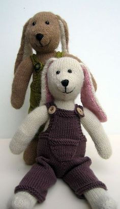 Breipatroon vriendjes konijn (NL)