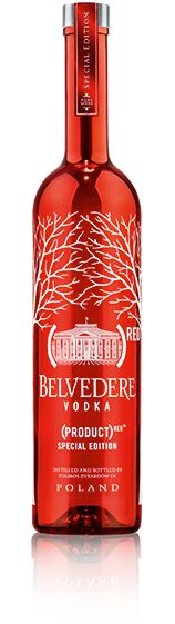 50% (yes FIFTY!) of all profits from the GLOBAL sales of Belvedere RED go to the Global Fund to fight HIV/AIDS in Africa. Please support them in this cause. I will be.