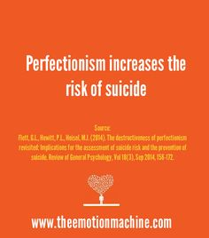 More research on the horrors of perfectionism: http://www.theemotionmachine.com/how-perfectionism-destroys-happiness