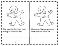 The Gingerbread Man story elements graphic organizer FREEBIE and ...