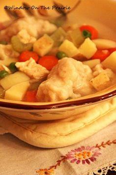 Homemade dumplings recipe...