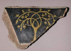 Probably made in Forlì or in Faenza From the tile pavement comissioned by Bartolomeo Lombardini (1430-1512) for the chapel he had built in the now demolished church of San Francesco Grande, Forlì