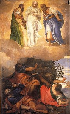 NOVENA in Honour of and preparation for, the Feast of the Transfiguration of our Lord – Day Six – 2 August Catholic Art, Religious Art, Michelangelo, Pontius Pilatus, Venetian Painters, Christian Artwork, Christian Images, Life Of Christ, Jesus Christ