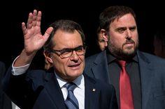 Getty Images: Catalan Leader Artur Mas Signs Decree For Independence Referendum