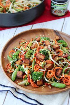 vegan chow mein