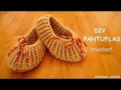 Patrón para tejer botitas, patucos, zapatitos, escarpines fácil y rápido - YouTube