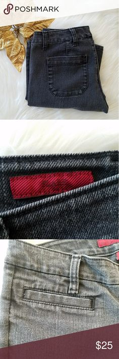 """Banana Republic Limited Edition Flare Jeans A Limited Edition pair of flare-leg jeans from Banana Republic in a gray wash!. Front welt pockets; Approximate measurements: Waist: 14"""", Inseam: 29"""". These are a Size 26 or 2 in a short length. In very good condition. Banana Republic Jeans Flare & Wide Leg"""
