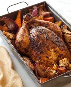 Moroccan-Spiced Roast Chicken Recipe