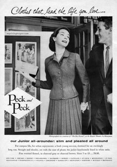 Peck & Peck 1955