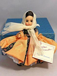 Madame Alexander Crete Doll #529 Miniature Showcase Series With Box and Hang Tag #MadameAlexander