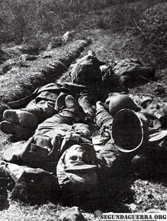 Brazilian soldier died in action, probably in the winter. Its body alone can be…