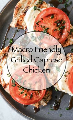 It's summer and that means grilling everyday for me. I love to grill and prefer my chicken to be cooked on the grill. So this grilled caprese chicken is the perfect summer BBQ meal and will be n repeat a lot this summer. #capresechicken #grilledchicken #grilledcapresechicken #macrofriendlyrecipes #dinnerrecipes #grilling #bbqrecipes Clean Eating Recipes, Healthy Dinner Recipes, Whole Food Recipes, Caprese Chicken, Grilled Chicken, Healthy Habbits, Macro Friendly Recipes, Workout Meal Plan, Cooking On The Grill