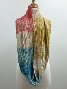 Odeseed infinity scarf by Chris Rieffer on ravelry