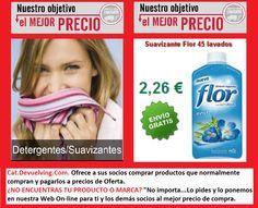 Devuelving Tienda Online y Comercio por Internet: Suavizante Flor 45 lavados