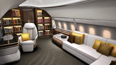DesignQ creates new luxury interior concepts for a business jet