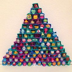Had to repost because this is amazing!! #Repost @anababyshopkins (not my pic) ・・・ Challenge accepted! 105 Shopkins in their bags! (And yes, this was a family effort) we were challenged by @shopkinsbasket for @littleglittershopkins bag stacking challenge. We had a lot of fun. The first pyramid I put all the shopkins in myself but it fell so that's when daddy stepped in to help. We couldn't possibly do the rest of our bags Have fun guys! #shopkins #shopkinsworld #shopkinsmania