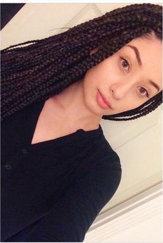 Crochet Hair On White Girl : Crochet Braids Hairstyles as well White Girl With Box Braids in ...