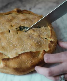 Savory Greens Pie fo
