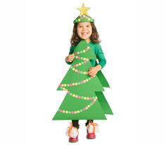 Christmas Tree Costume Diy