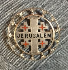 One of the pins Gerda brought with her, when she immigrated to the United States from Germany with her family, before she married Cornelius.